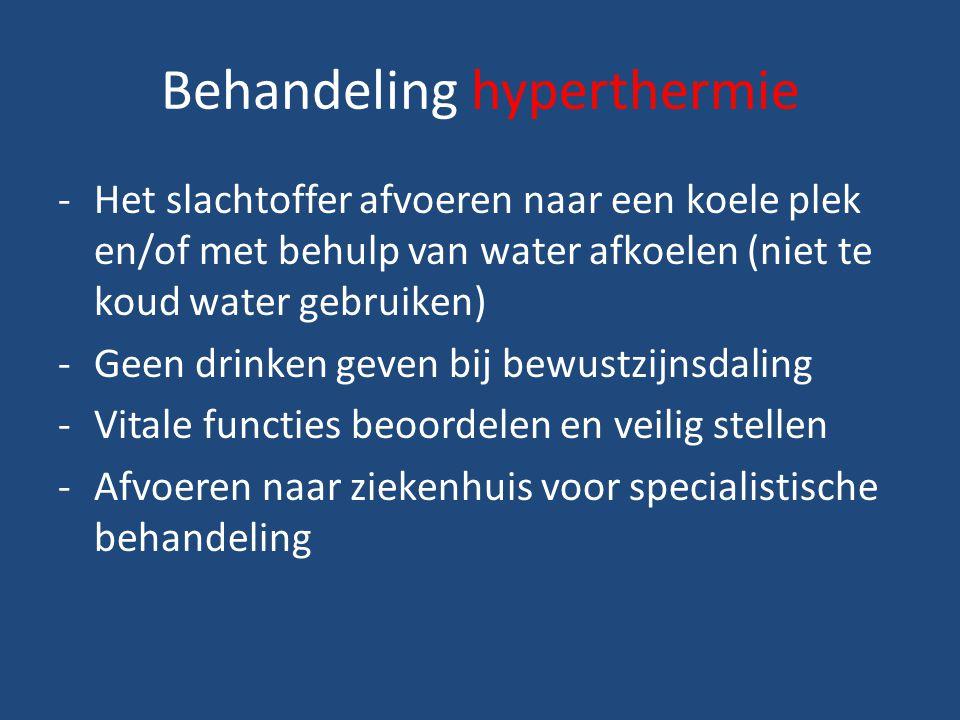 Behandeling hyperthermie