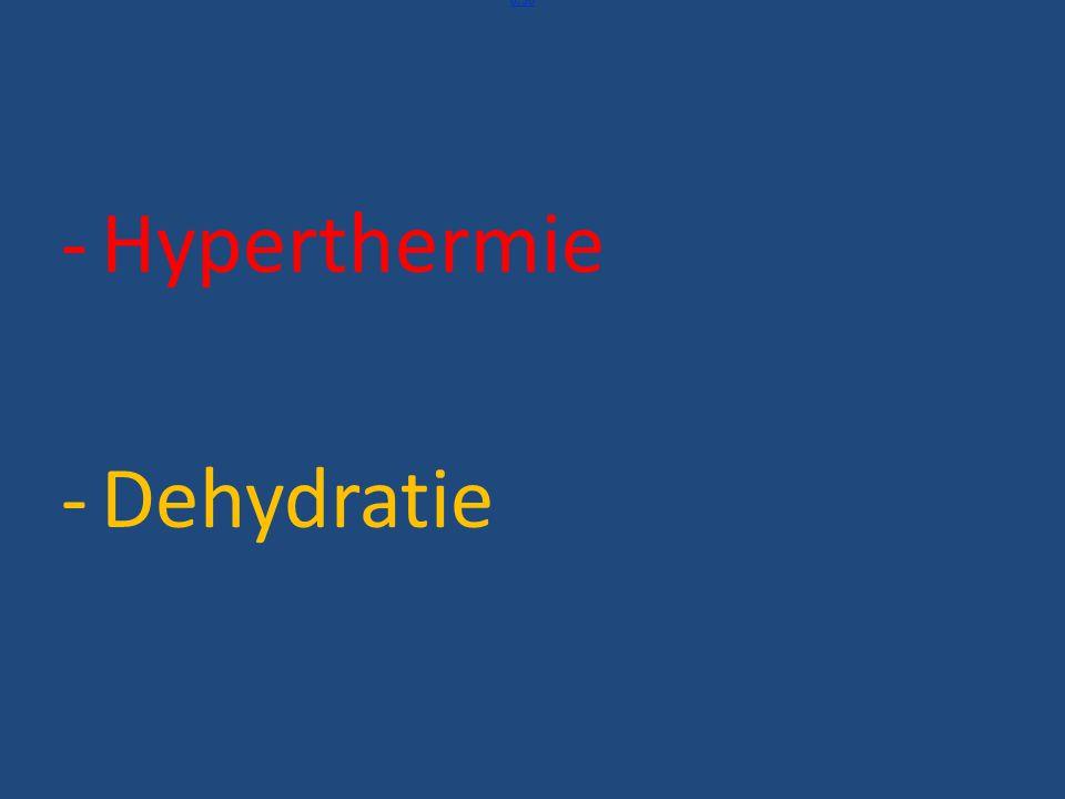 0:35 Toegevoegd Hyperthermie Dehydratie