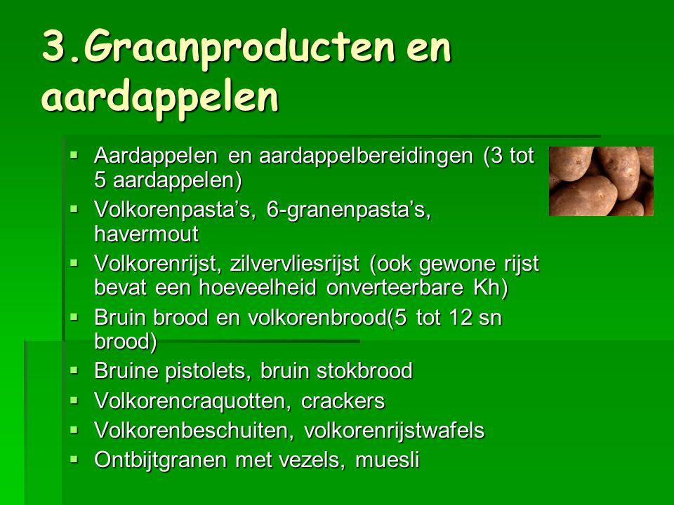 3.Graanproducten en aardappelen