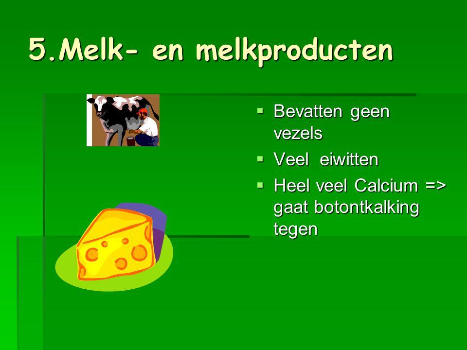 5.Melk- en melkproducten