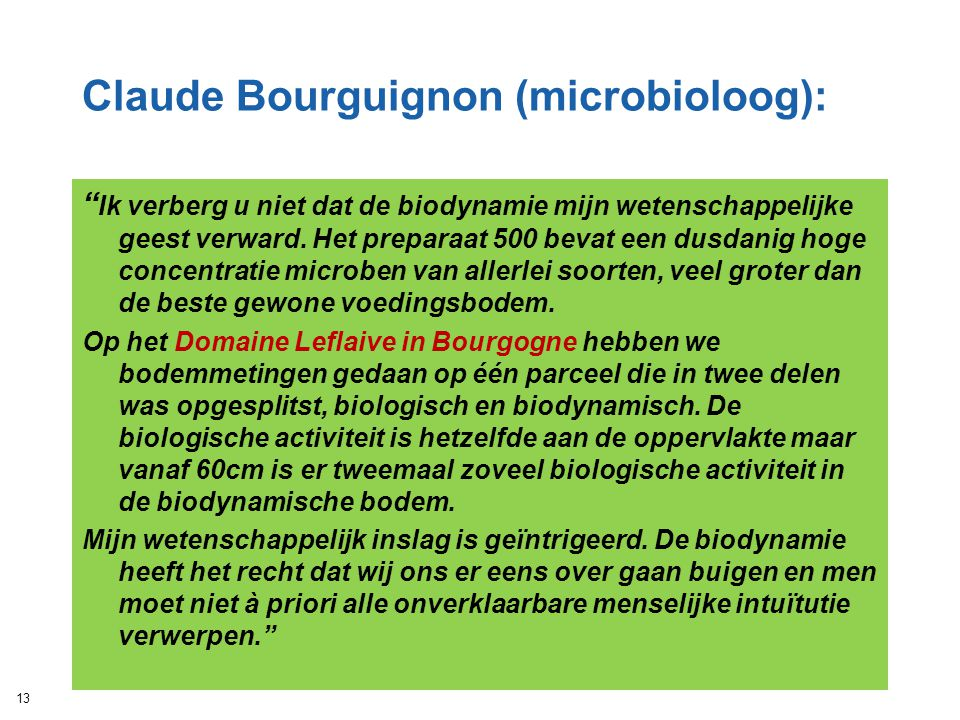 Claude Bourguignon (microbioloog):