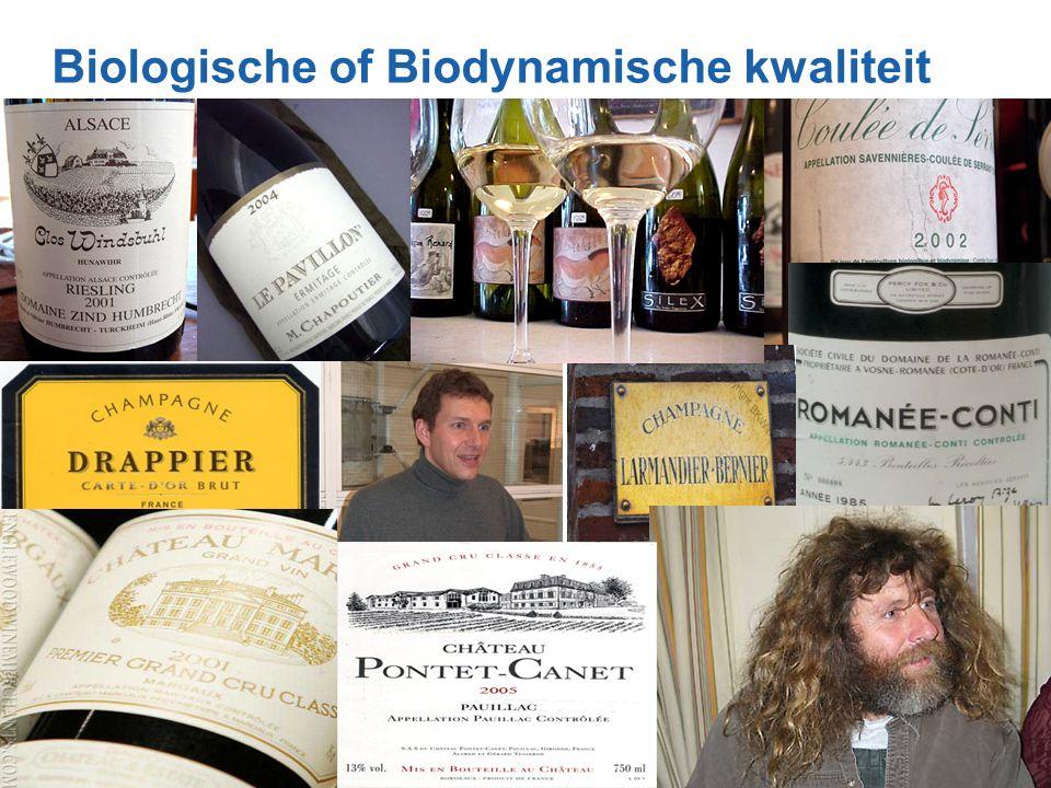 Biologische of Biodynamische kwaliteit