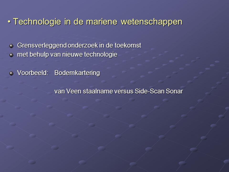 Technologie in de mariene wetenschappen