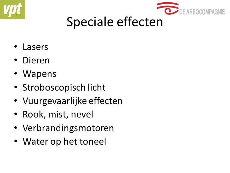 Speciale effecten Lasers Dieren Wapens Stroboscopisch licht