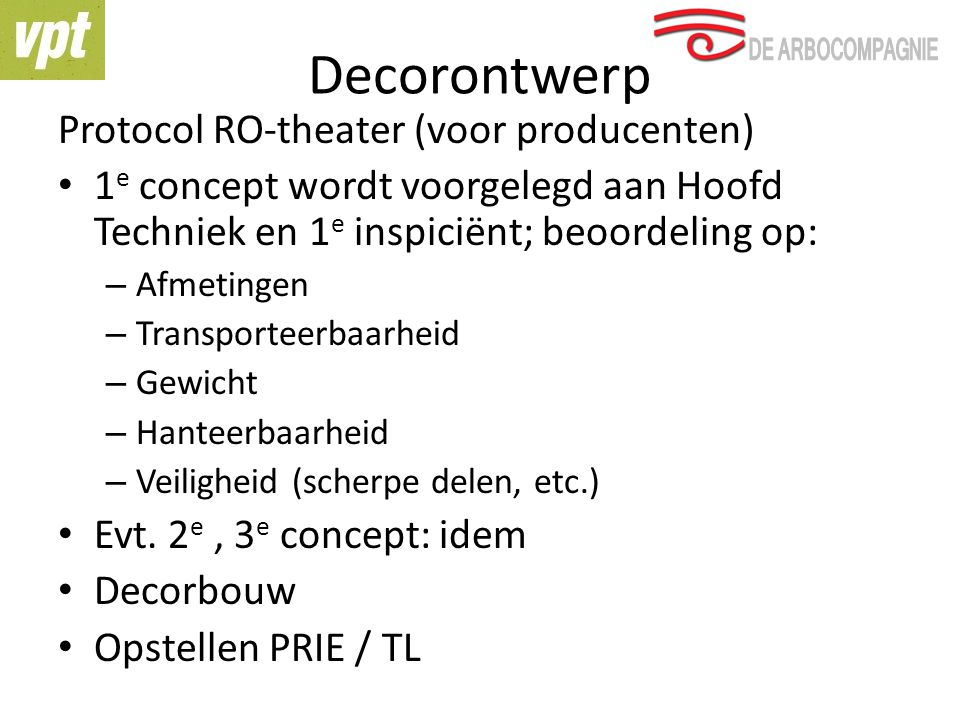 Decorontwerp Protocol RO-theater (voor producenten)