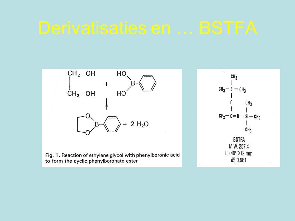 Derivatisaties en … BSTFA