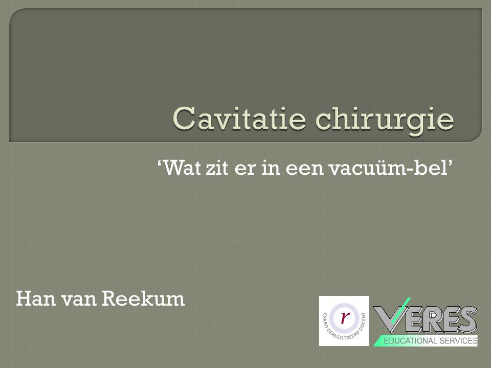 'Wat zit er in een vacuüm-bel' Han van Reekum