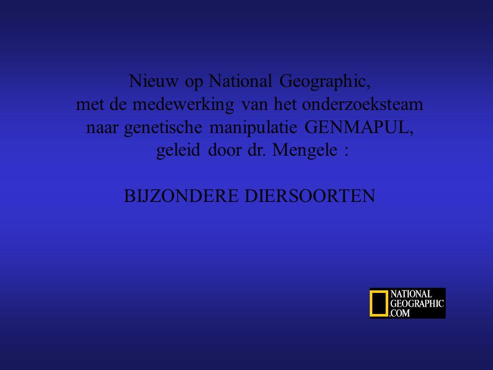 Nieuw op National Geographic,