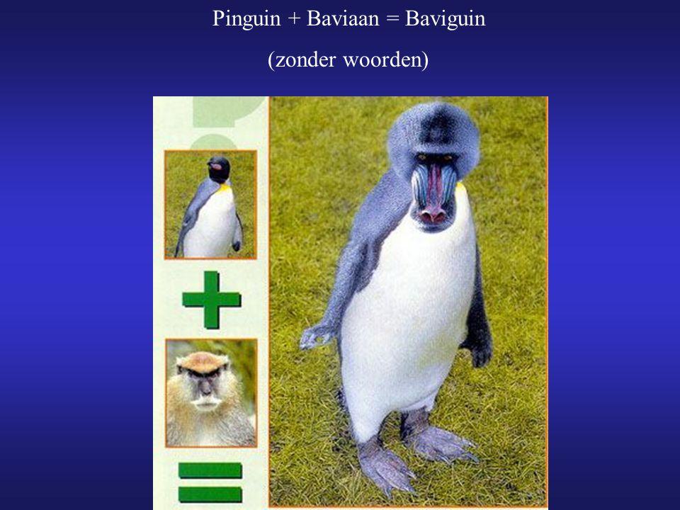 Pinguin + Baviaan = Baviguin