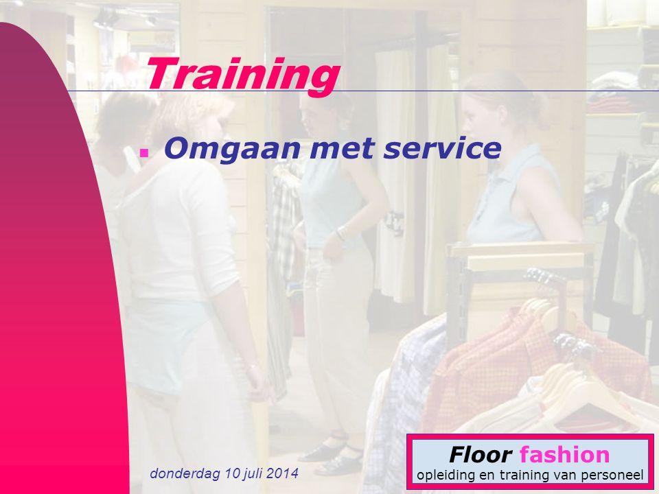 Training Omgaan met service 4-4-2017