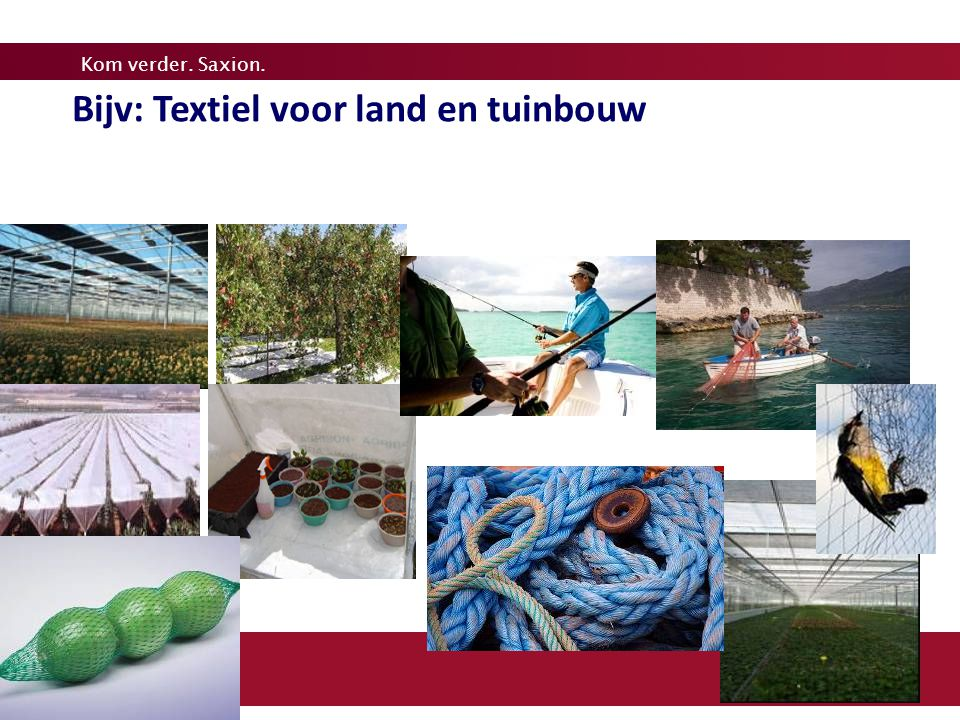 2020 Bijv: Textiel voor land en tuinbouw