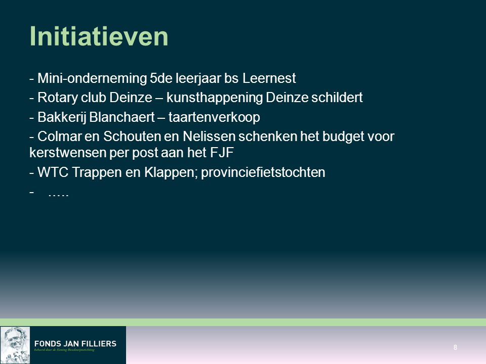 Initiatieven - Mini-onderneming 5de leerjaar bs Leernest