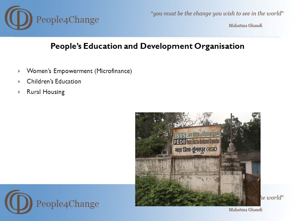 People's Education and Development Organisation