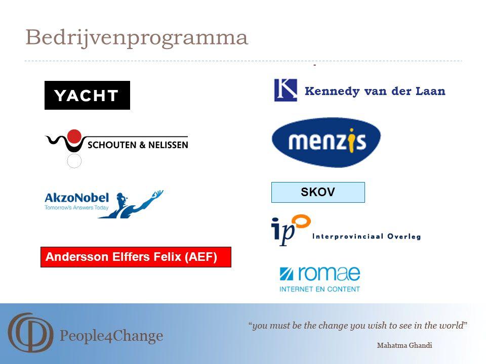 Bedrijvenprogramma Kennedy van der Laan SKOV