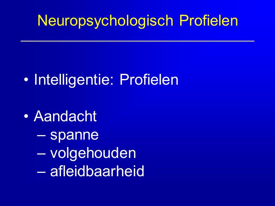 Neuropsychologisch Profielen