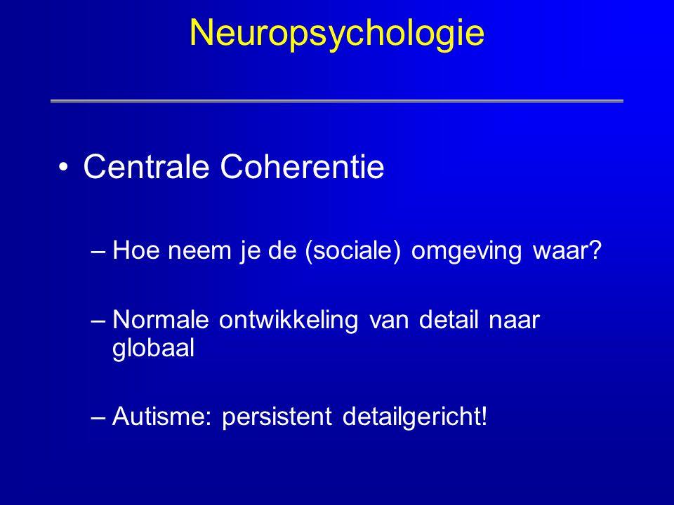 Neuropsychologie Centrale Coherentie