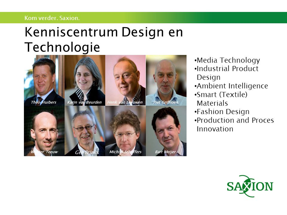 Kenniscentrum Design en Technologie