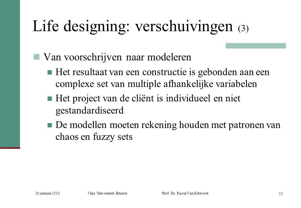 Life designing: verschuivingen (3)