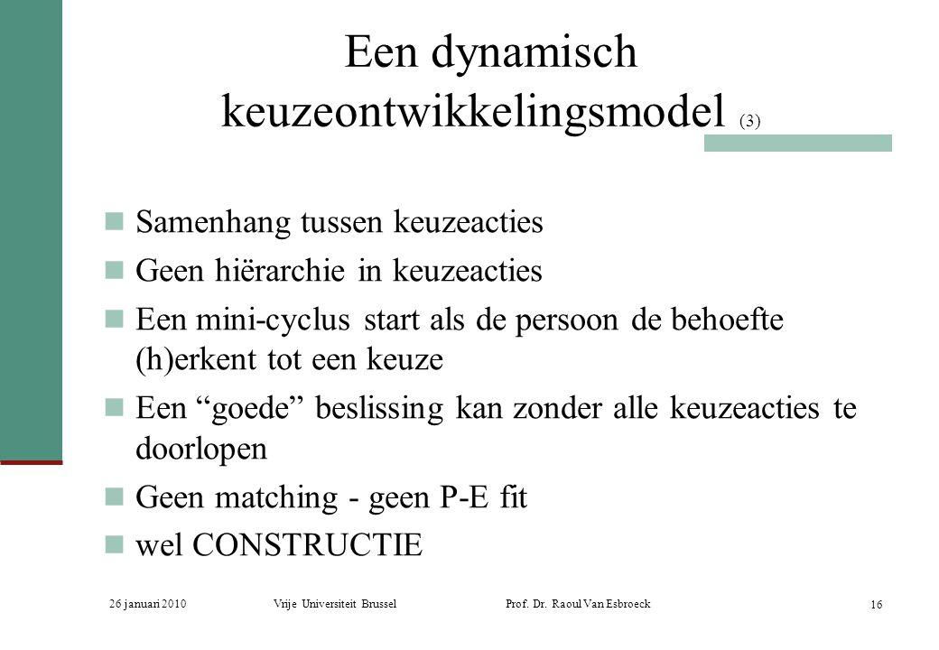 Een dynamisch keuzeontwikkelingsmodel (3)