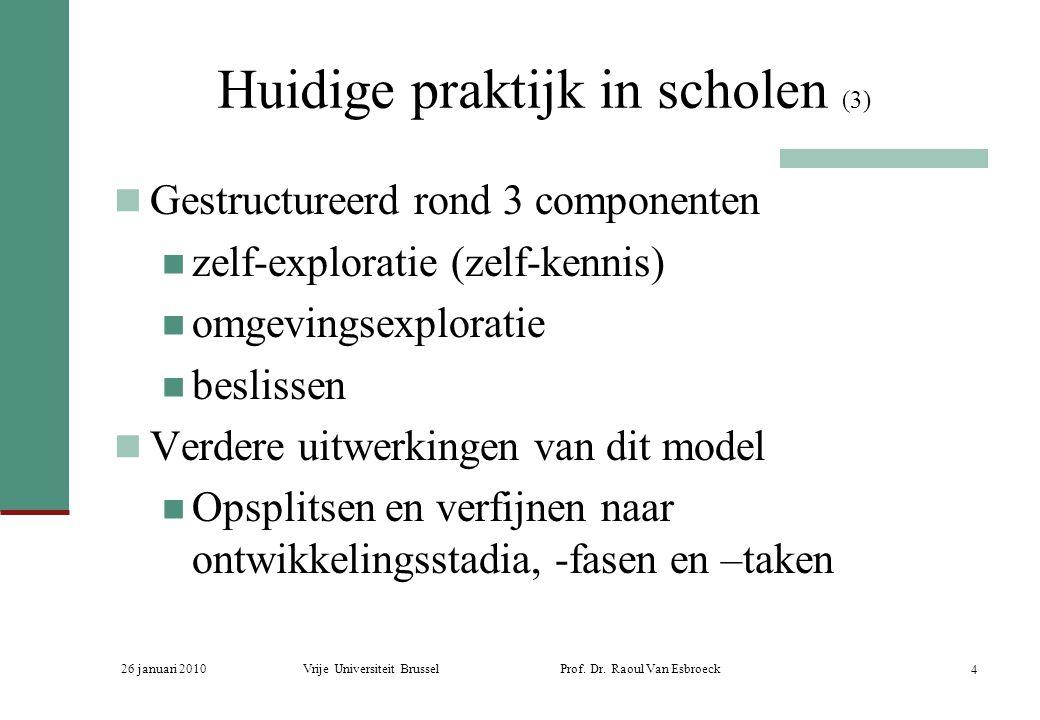 Huidige praktijk in scholen (3)