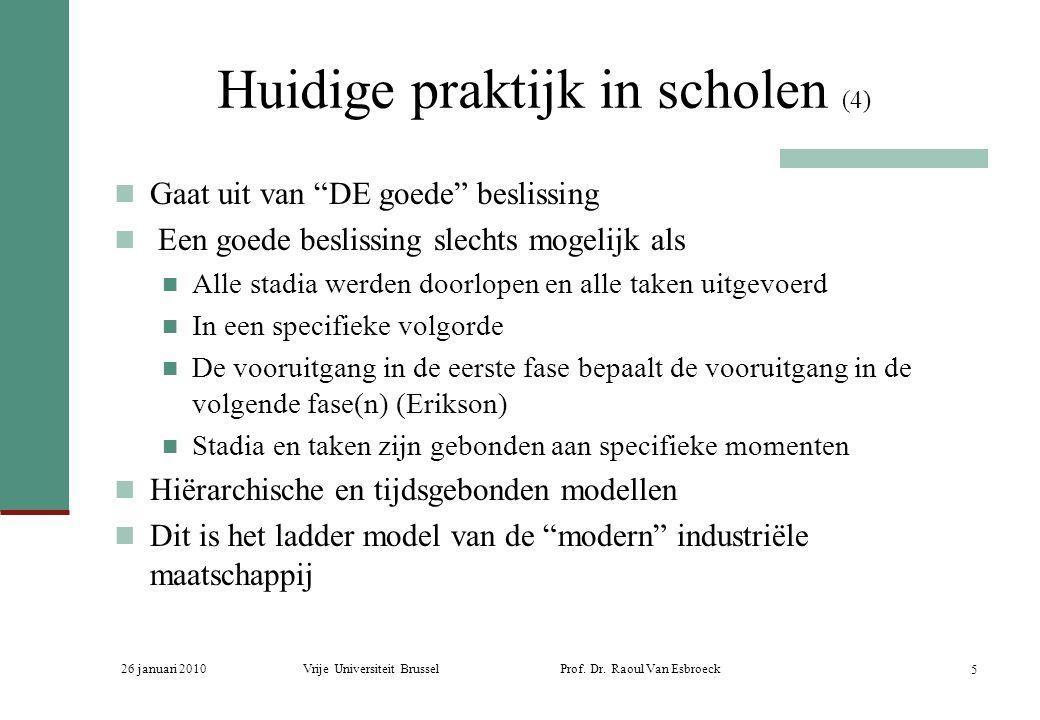 Huidige praktijk in scholen (4)