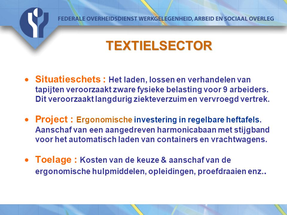 TEXTIELSECTOR