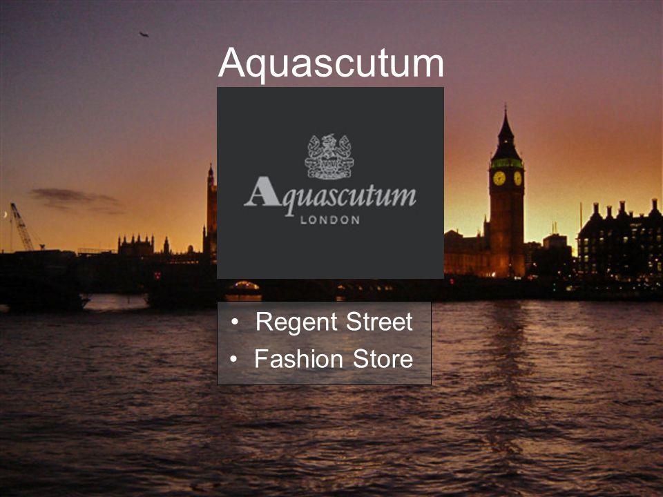 Aquascutum Regent Street Fashion Store