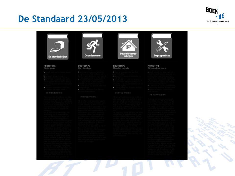 De Standaard 23/05/2013