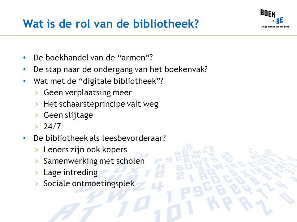 Wat is de rol van de bibliotheek