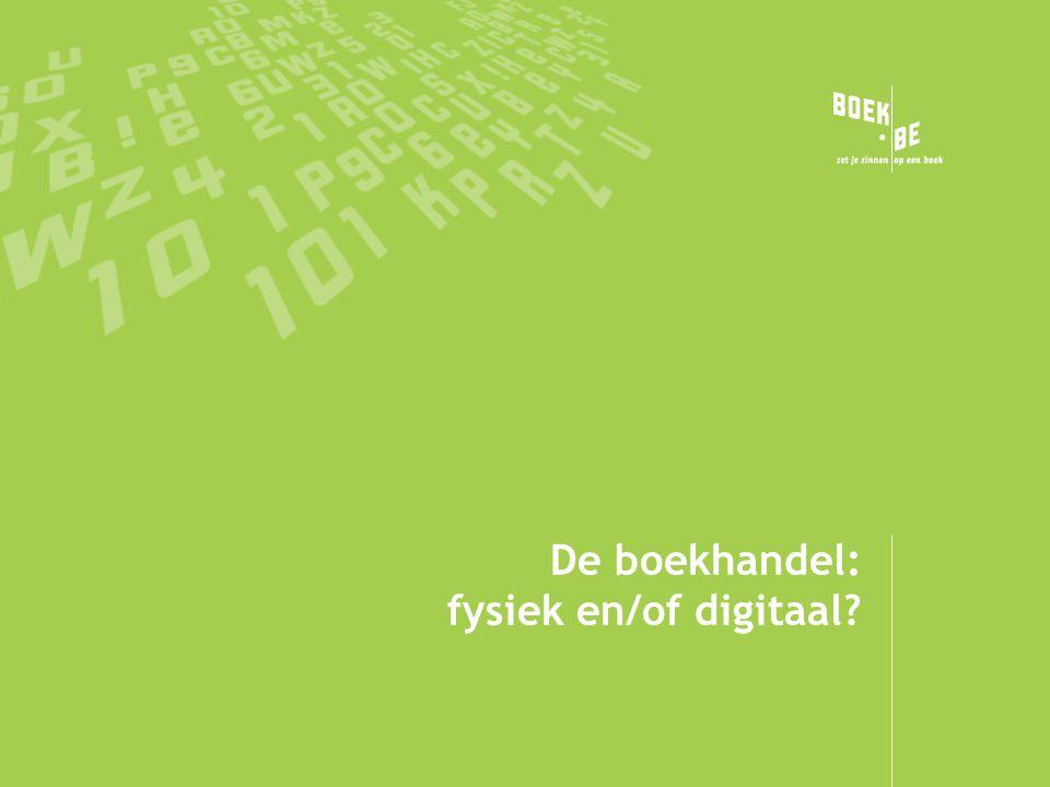 De boekhandel: fysiek en/of digitaal