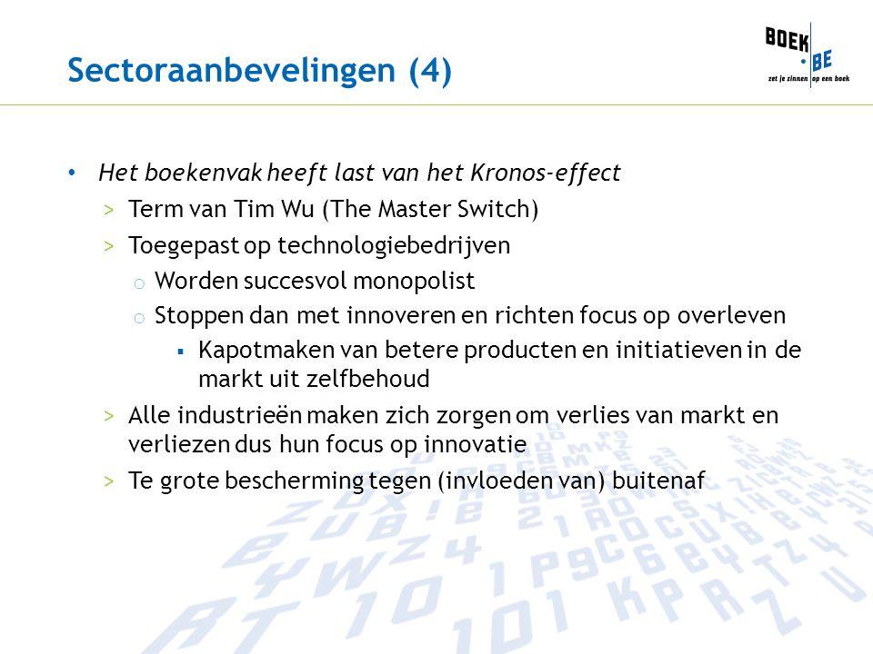 Sectoraanbevelingen (4)