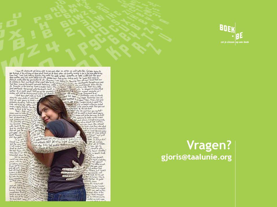 Vragen gjoris@taalunie.org