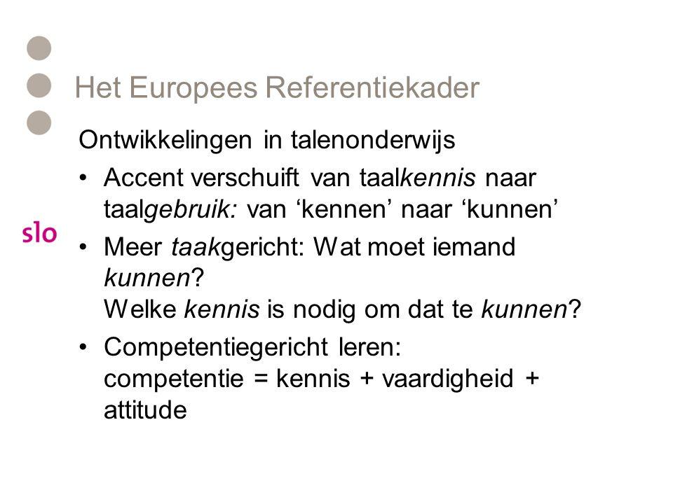 Het Europees Referentiekader