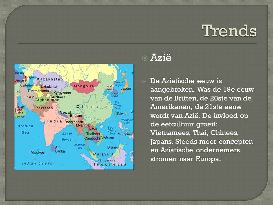 Trends Azië.