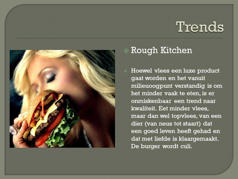 Trends Rough Kitchen.