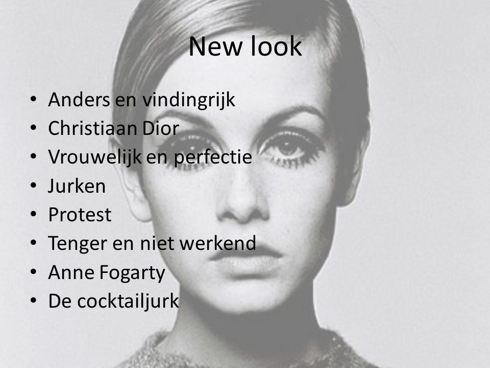 New look Anders en vindingrijk Christiaan Dior Vrouwelijk en perfectie