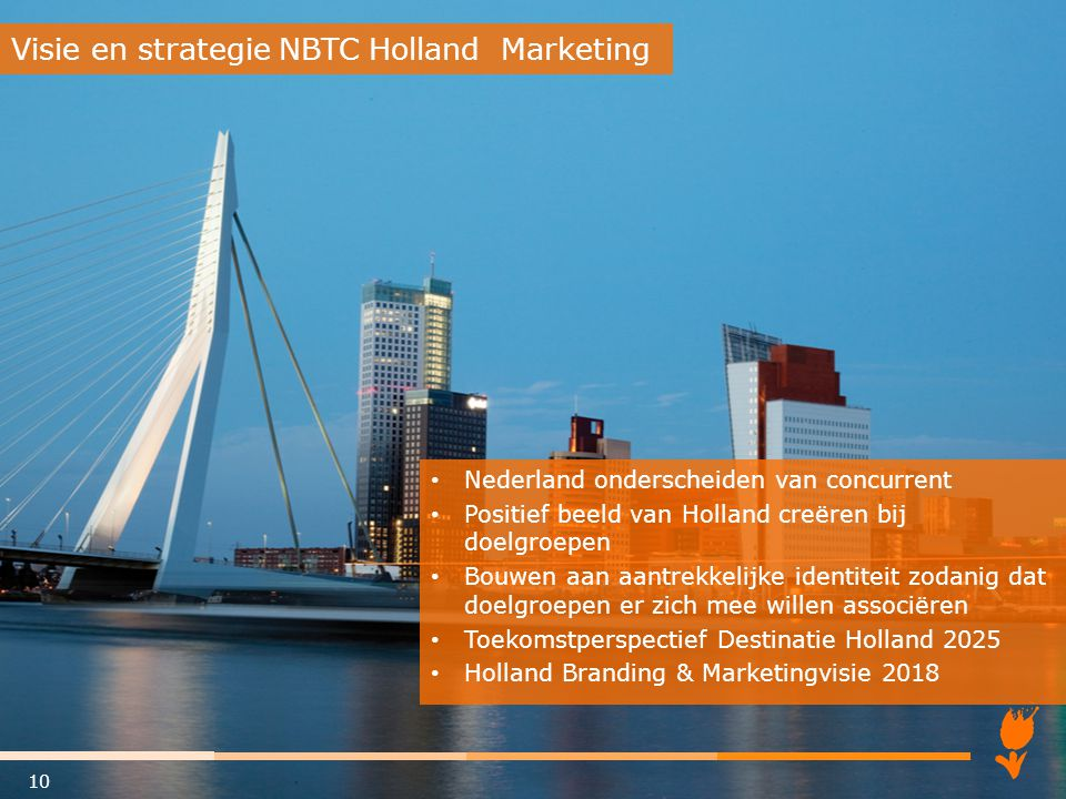 Visie en strategie NBTC Holland Marketing