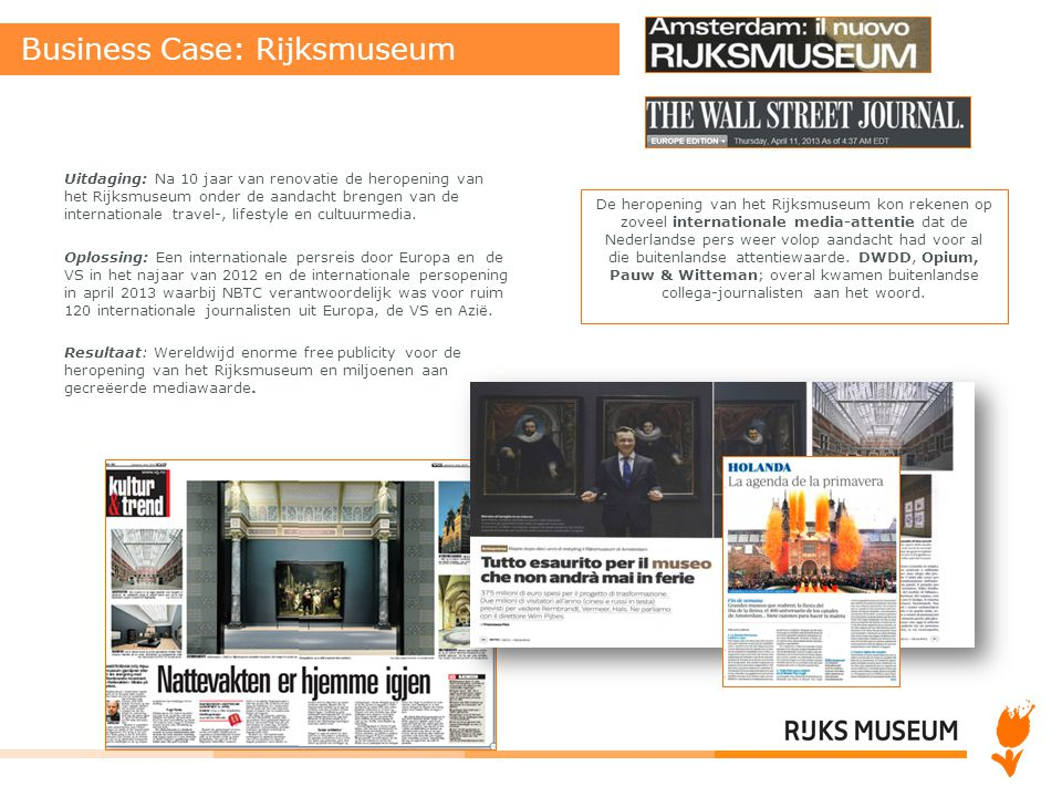 Business Case: Rijksmuseum