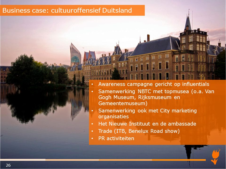 Business case: cultuuroffensief Duitsland