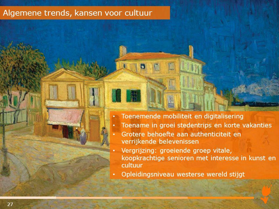 Algemene trends, kansen voor cultuur