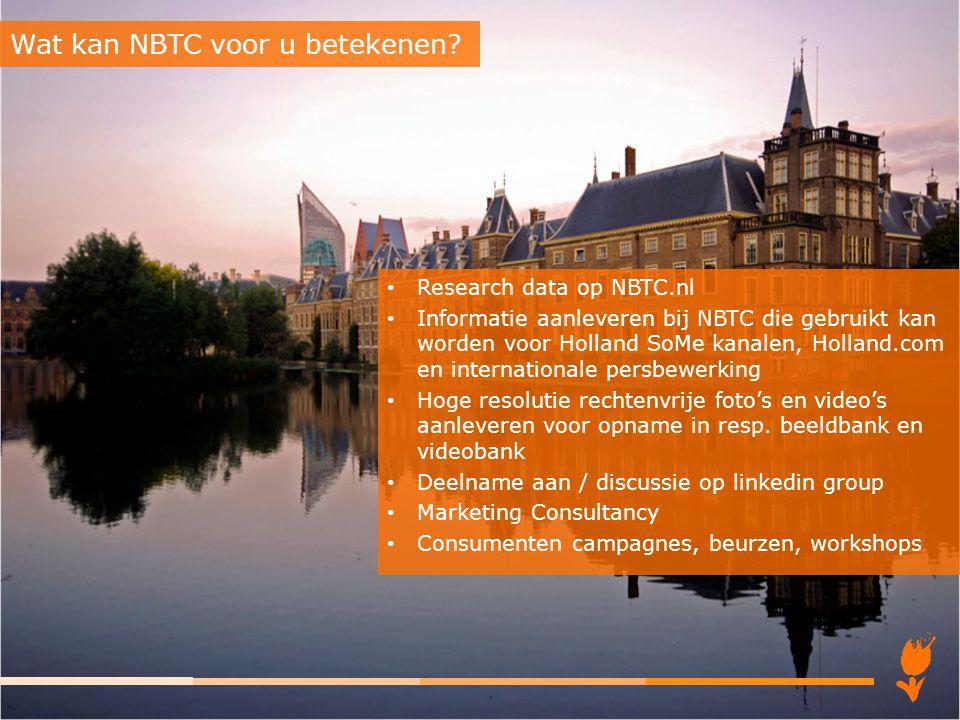 Wat kan NBTC voor u betekenen
