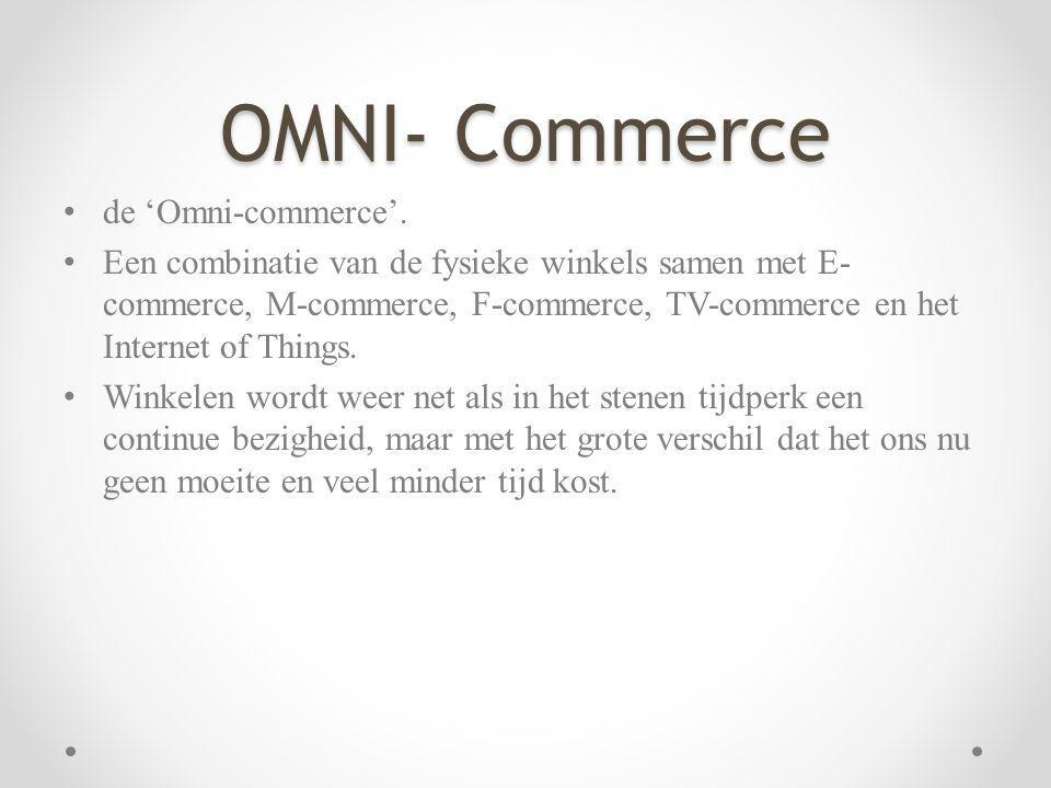 OMNI- Commerce de 'Omni-commerce'.