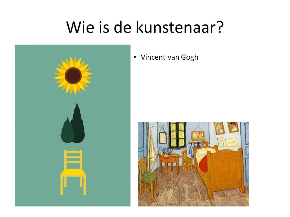 Wie is de kunstenaar Vincent van Gogh