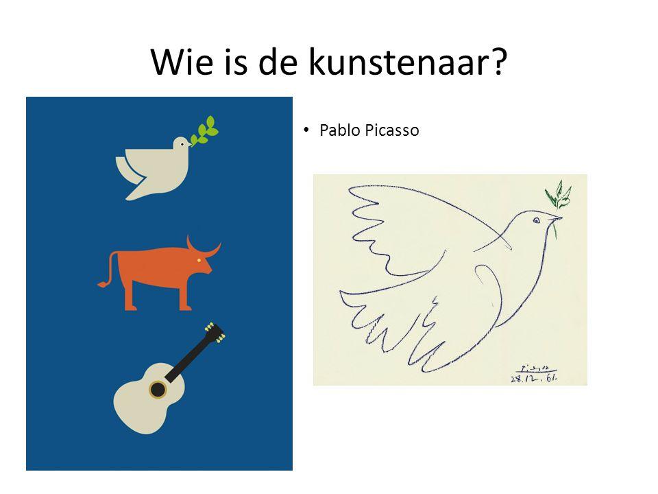 Wie is de kunstenaar Pablo Picasso