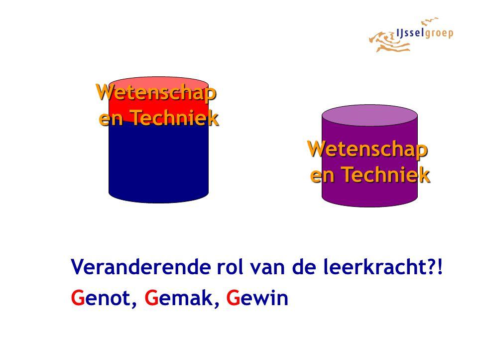 Wetenschap en Techniek Wetenschap en Techniek