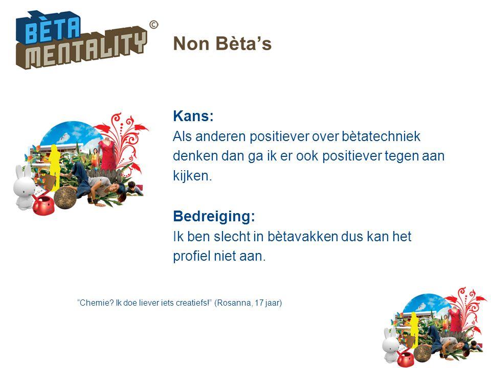 Non Bèta's Kans: Bedreiging: