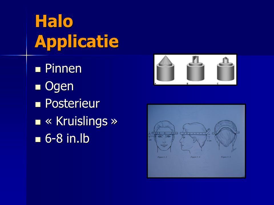 Halo Applicatie Pinnen Ogen Posterieur « Kruislings » 6-8 in.lb