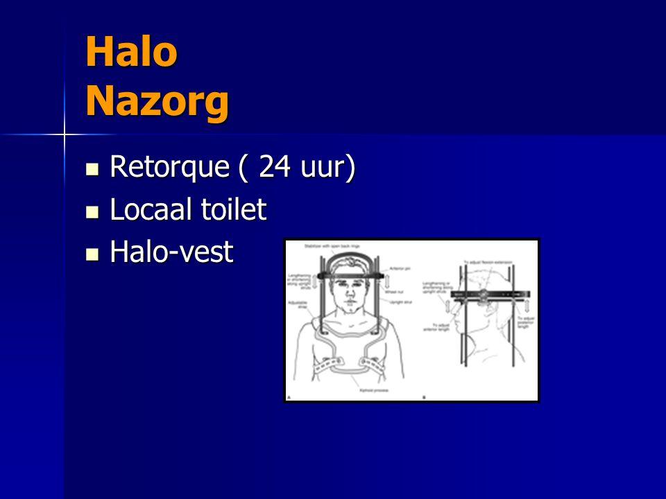 Halo Nazorg Retorque ( 24 uur) Locaal toilet Halo-vest