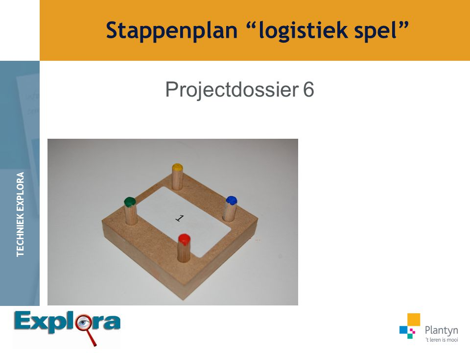 Stappenplan logistiek spel