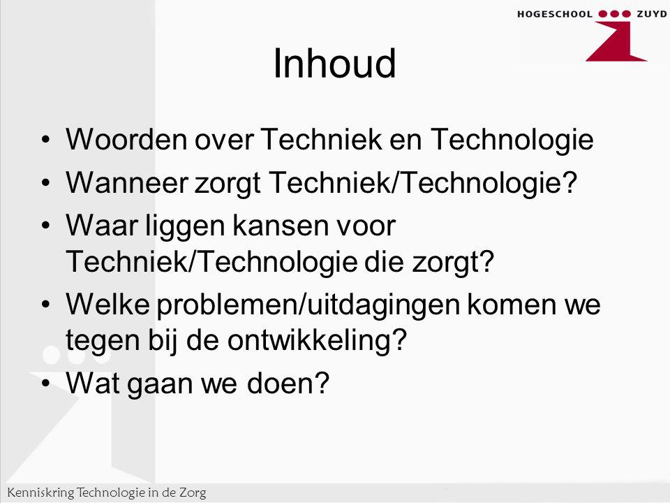 Inhoud Woorden over Techniek en Technologie